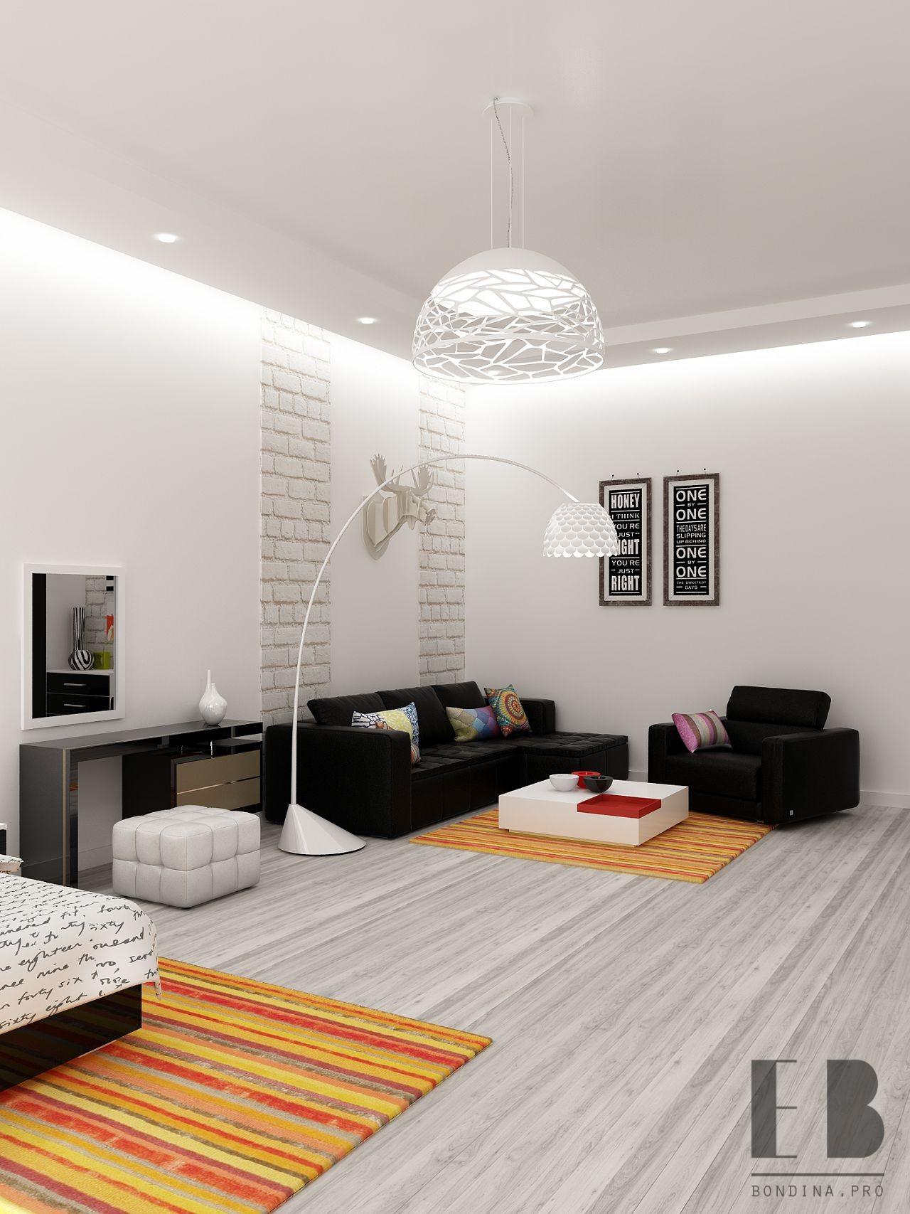 Диван в гостинную дизайн интерьера