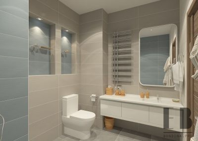 Small yet Functional Bathroom Design