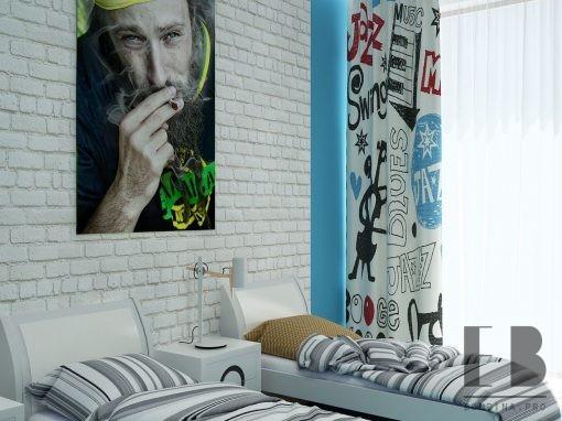 Спальня для двух подростков
