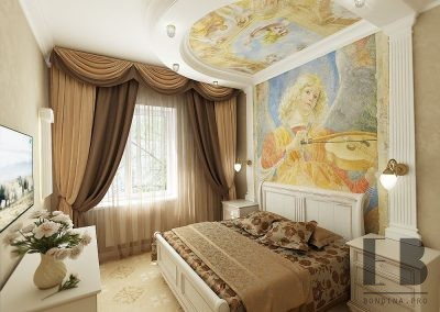 Romantic luxury bedroom