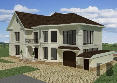 Дом реконструкция с благоустройством