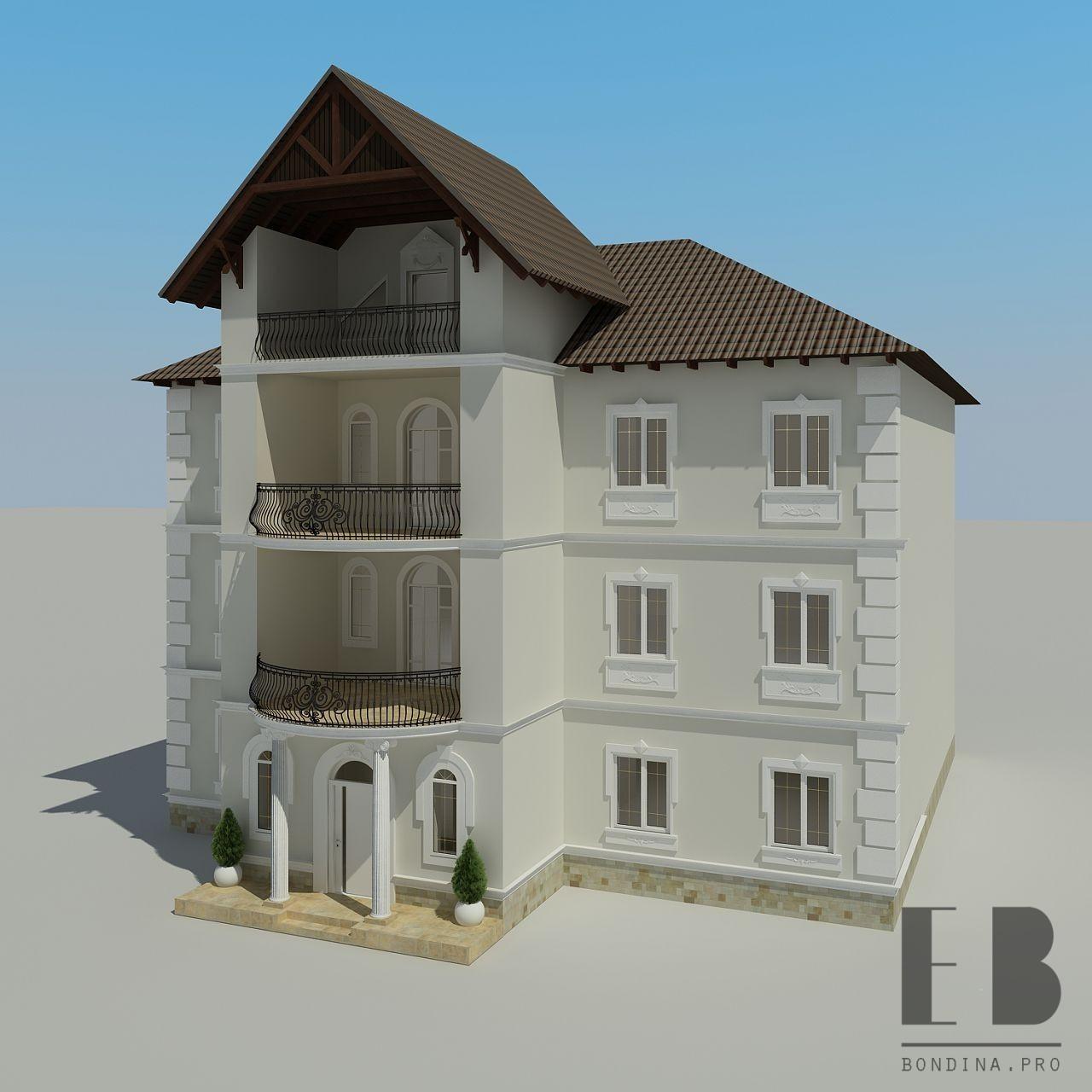 Facade reconstruction