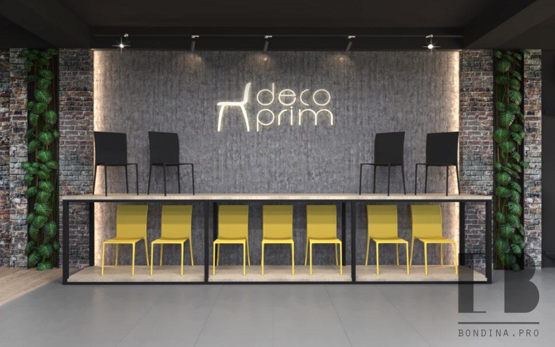 Шоурум мебельного магазина DECOPRIM