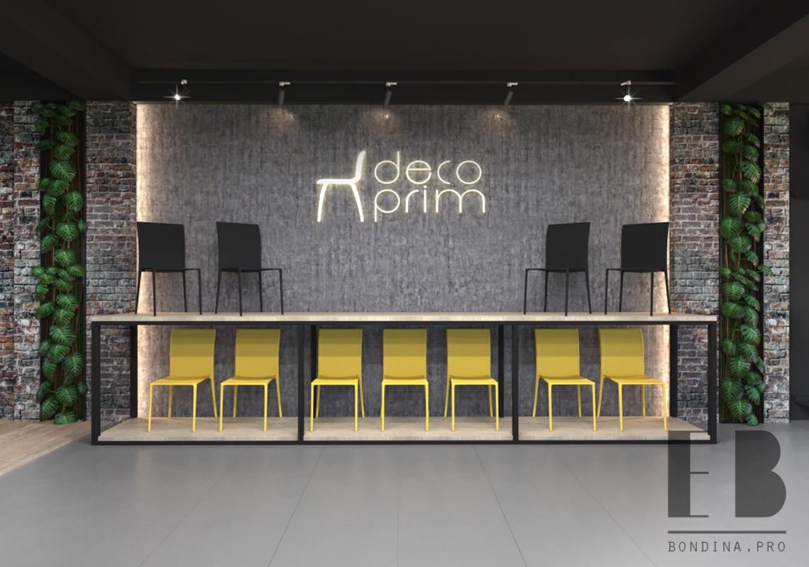 Shop showroom design