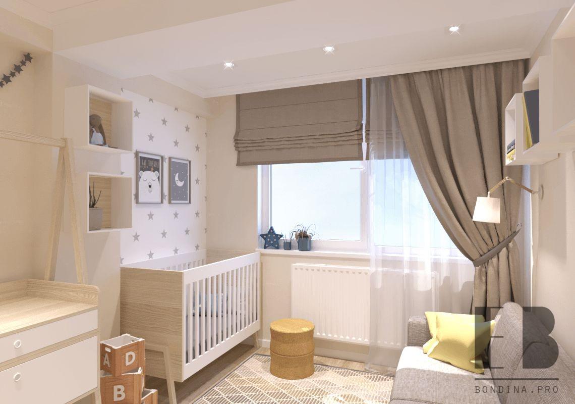 Комната для новорожденного дизайн