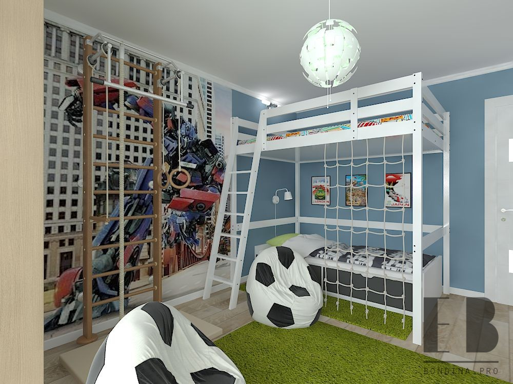Children's Transformers Bedroom design