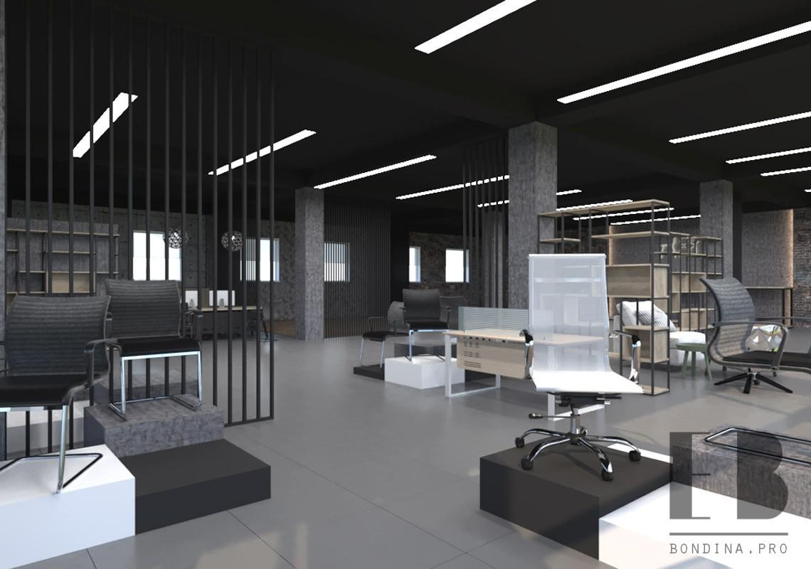 Store interior design