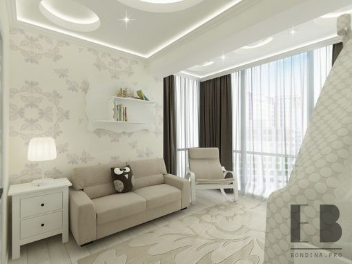 Elegant and delicate apartment interior design