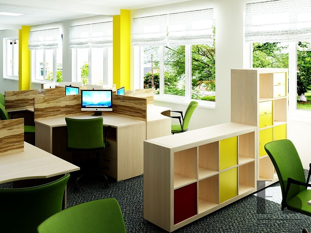 Workplace office interior