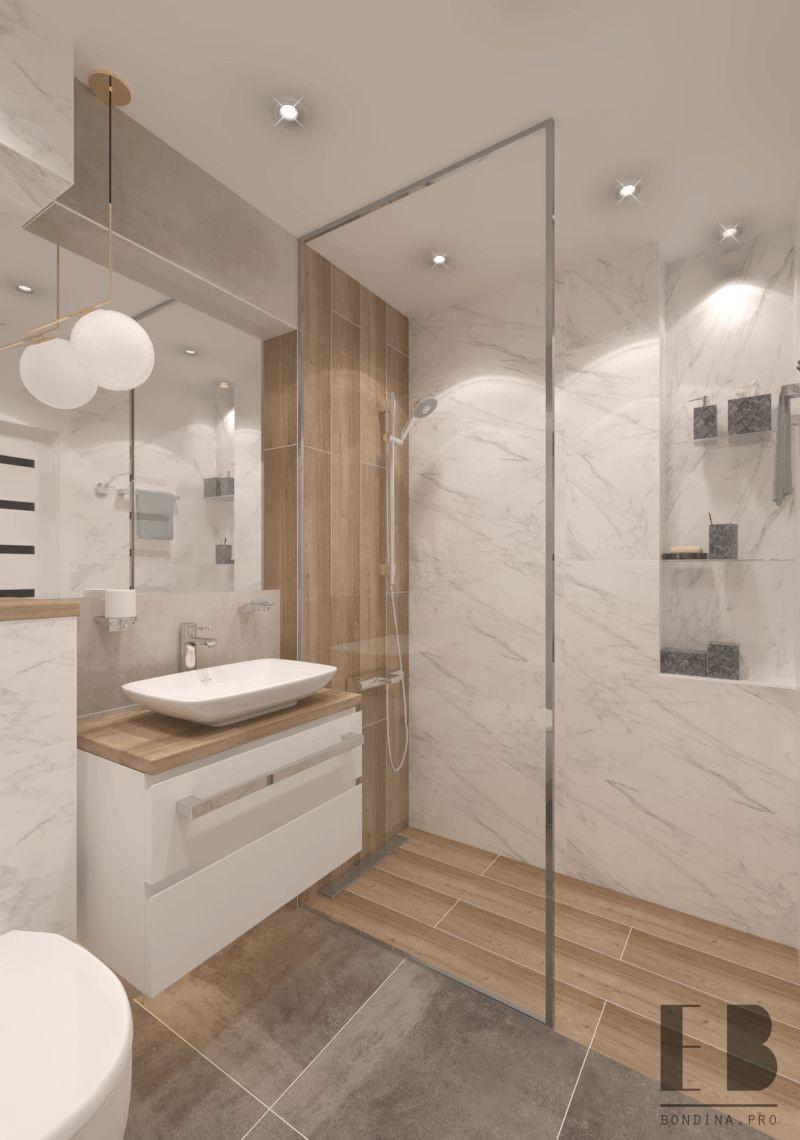 Дизайн интерьера ванной комнаты в светлых тонах