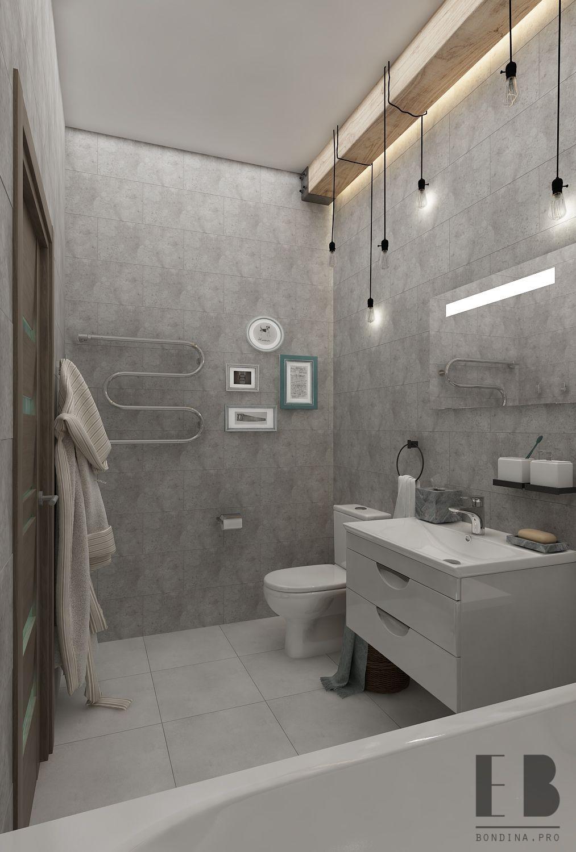 Stone Tiled Bathroom interior