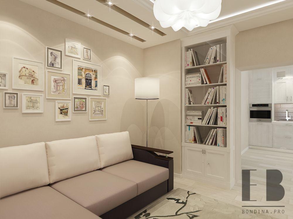 Elegant and delicate apartment interior design