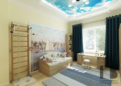 Cute girls room design