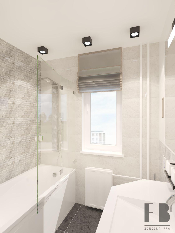 Tender bathroom interior