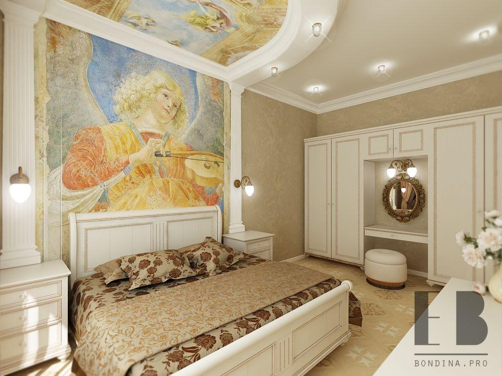 Romantic luxury bedroom