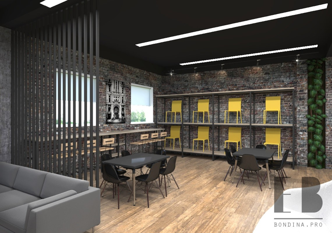 Loft Showroom design