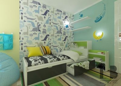 Dinosaur bedroom for boys