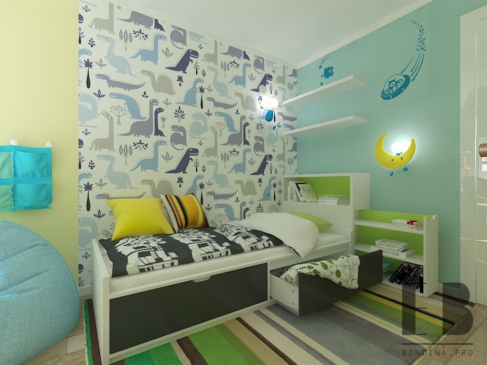 Dinosaur kids room design