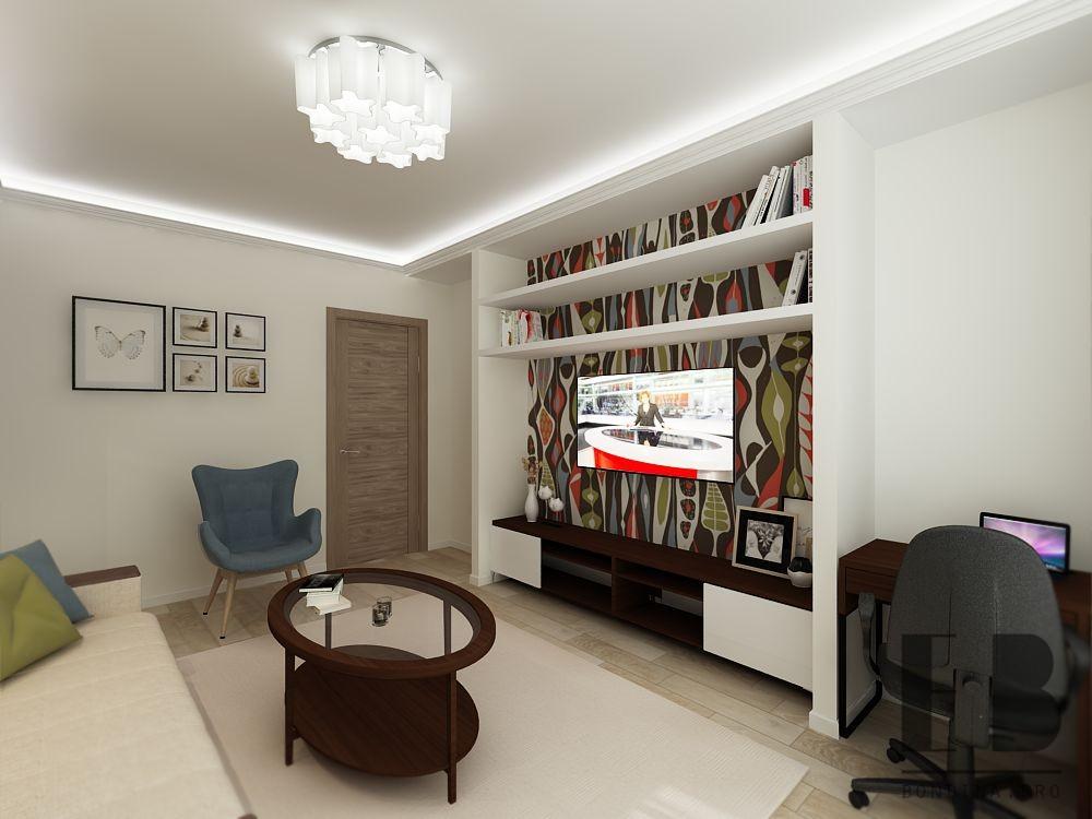 Современная гостиная дизайн