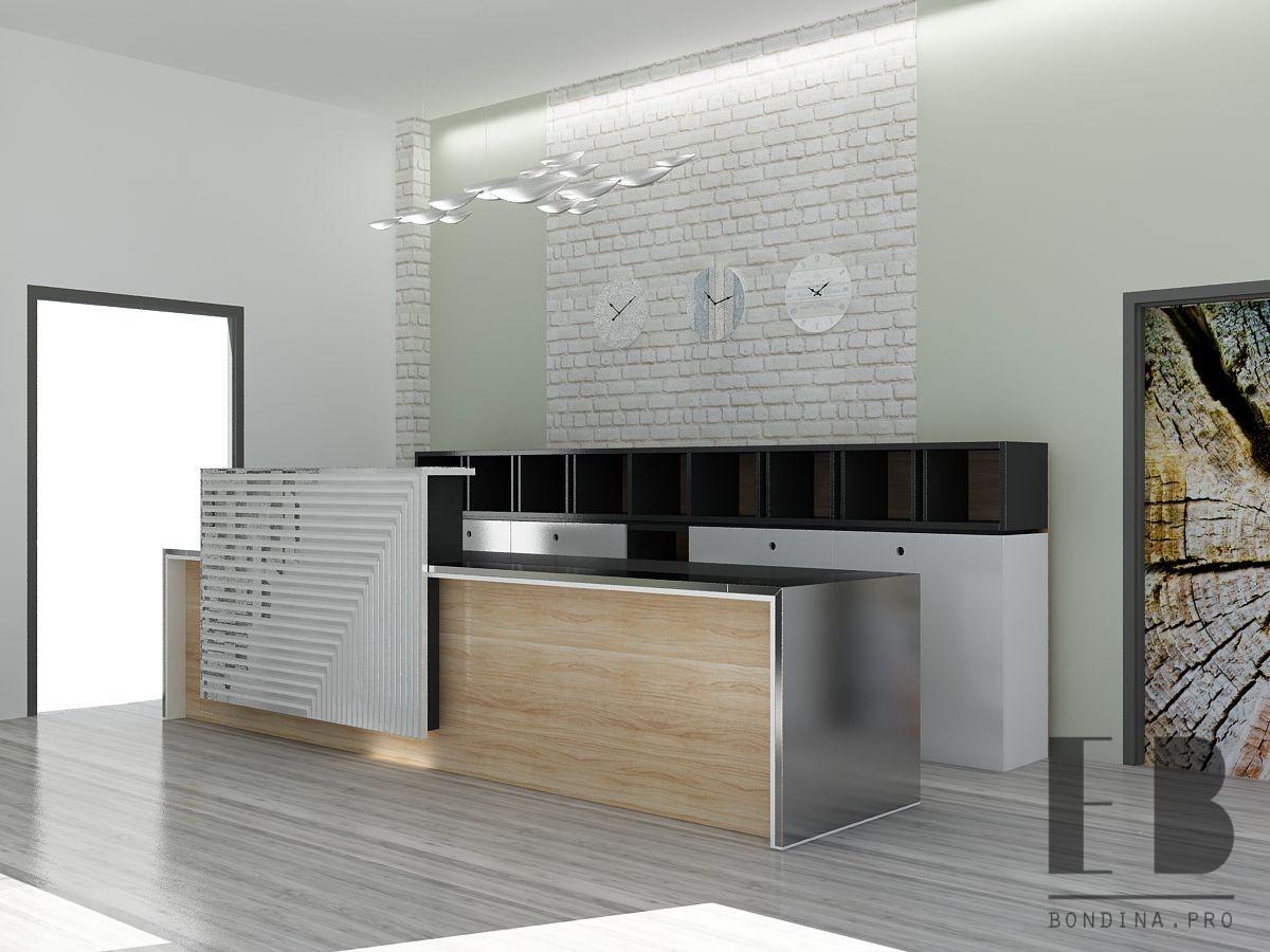 Ресепшн в гостиннице дизайн