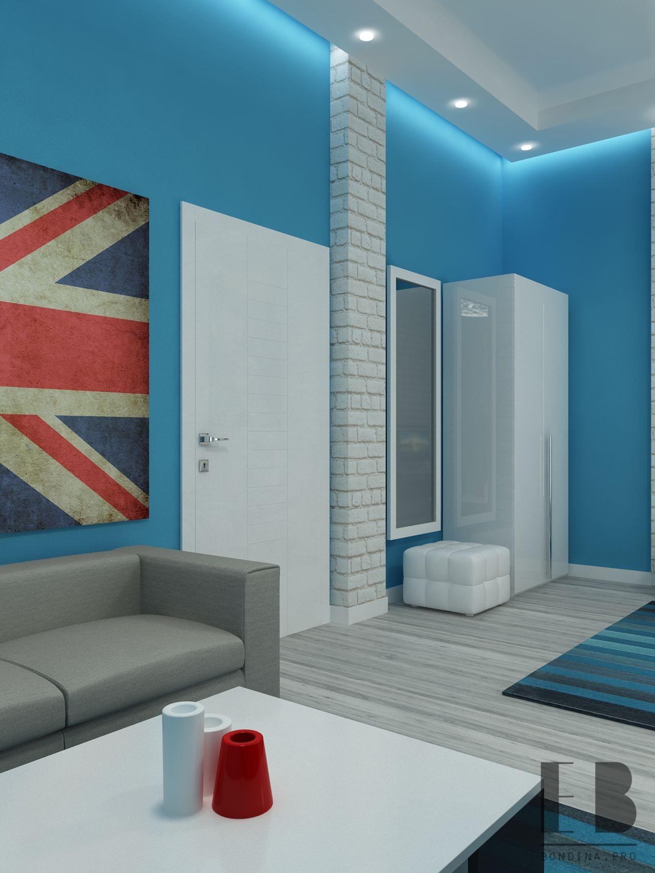 Дизайн спальни для подростков