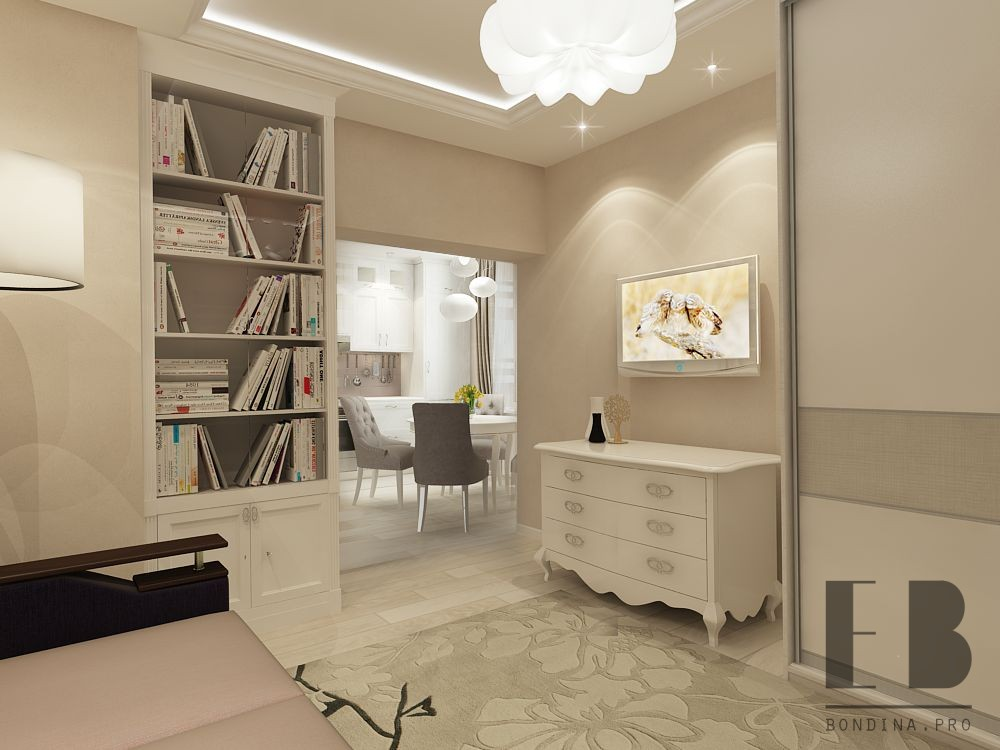 Interior design of an apartment in Moscow