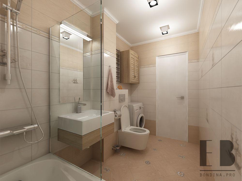 Ванная комната в светлых тонах дизайн