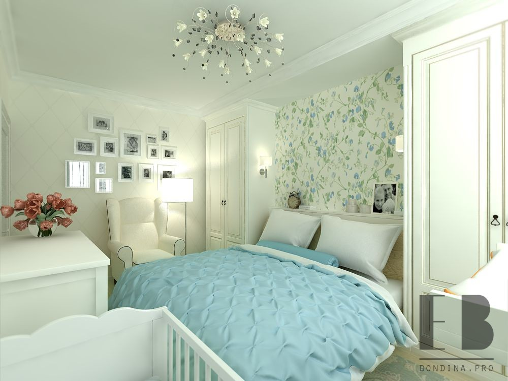 Design a room for mom and baby