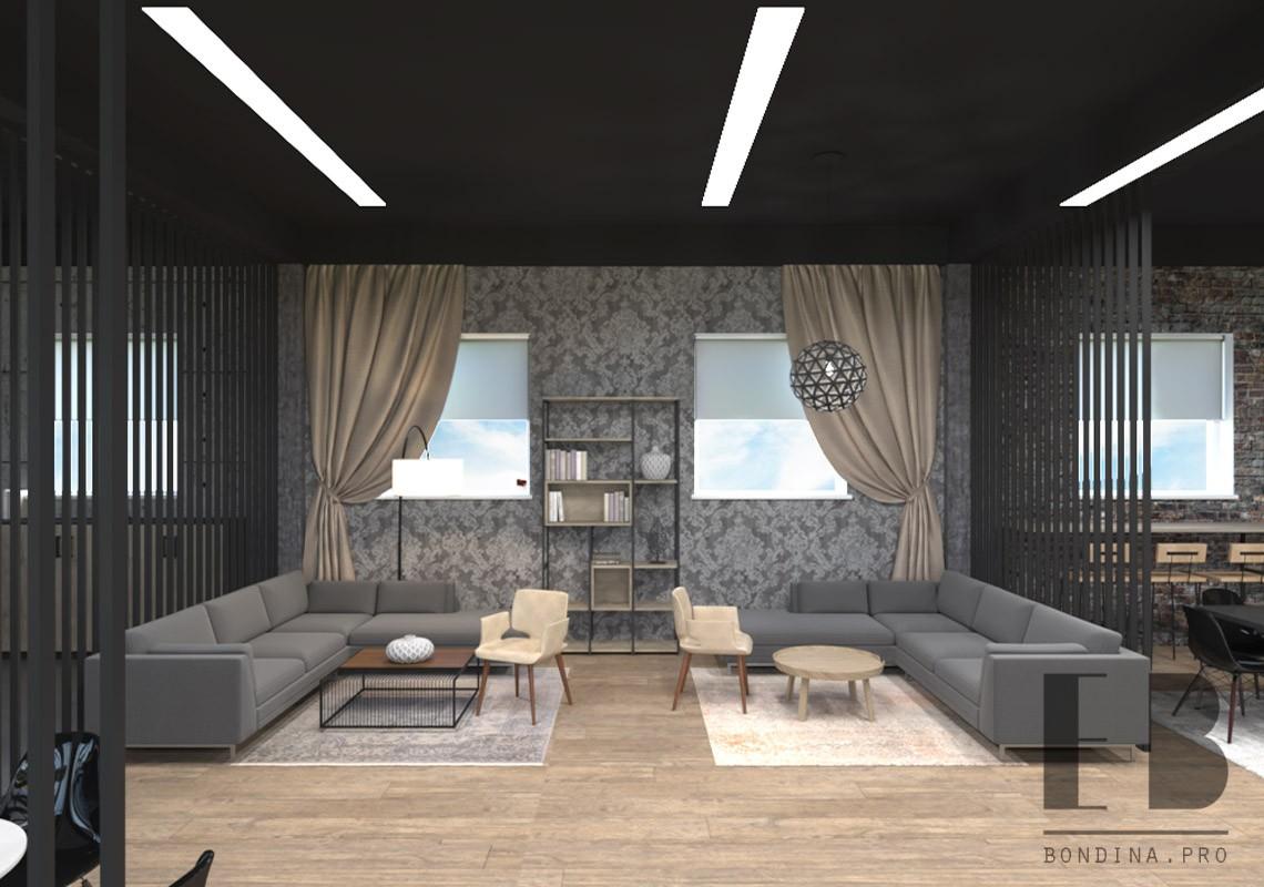 Furniture showroom interior design