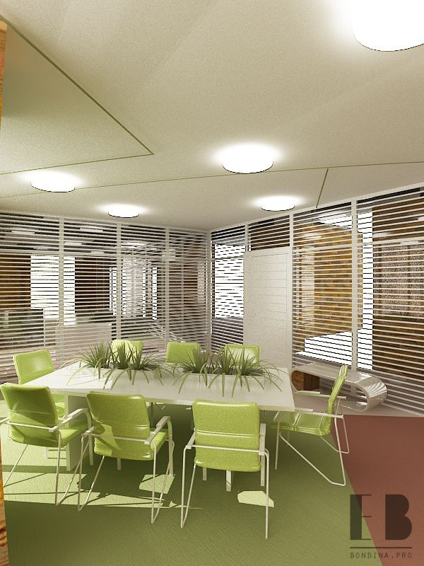 Eco style office design 2020