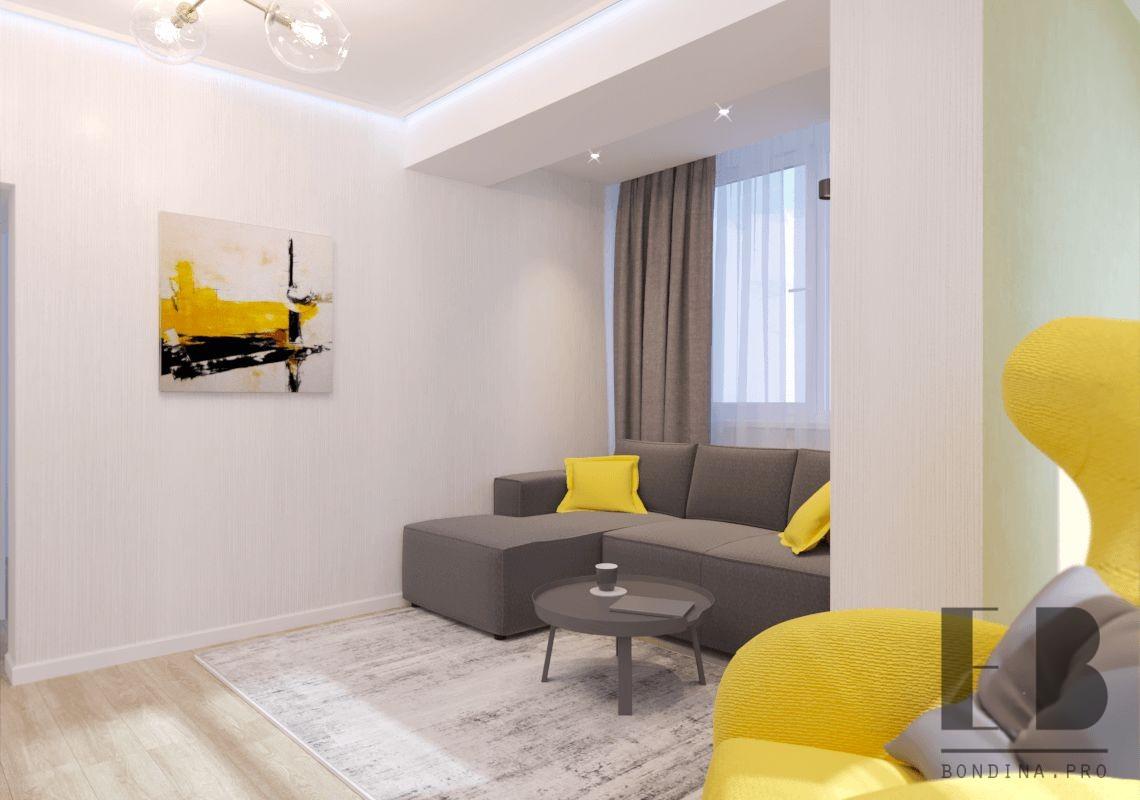Гостиная в современном стиле дизайн интерьера