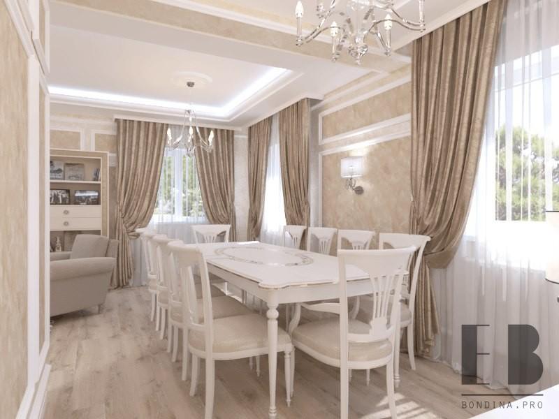 Классическая гостиная дизайн