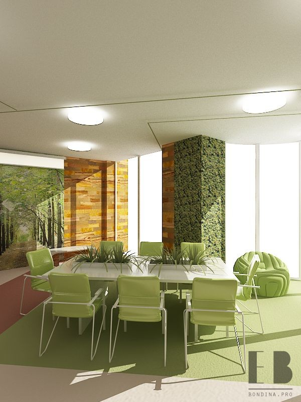 Green Design for office,  photo