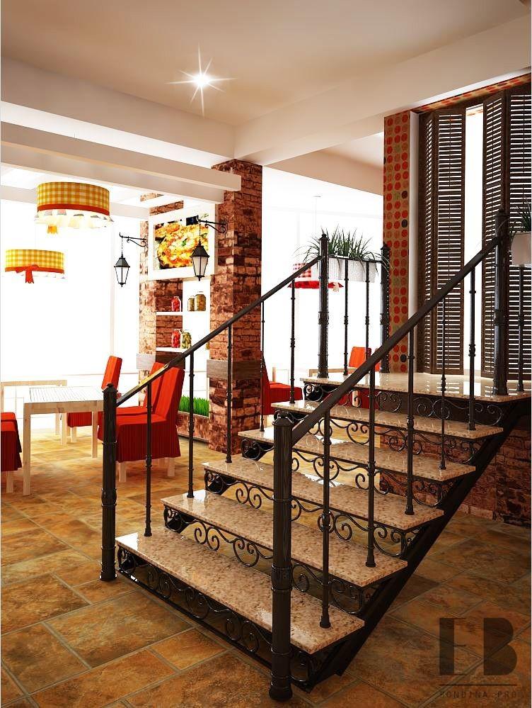 Кованая лестница дизайн