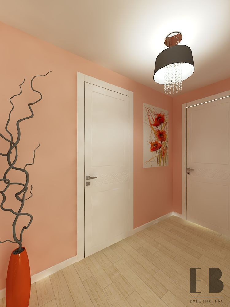 Design of the corridor in the apartment