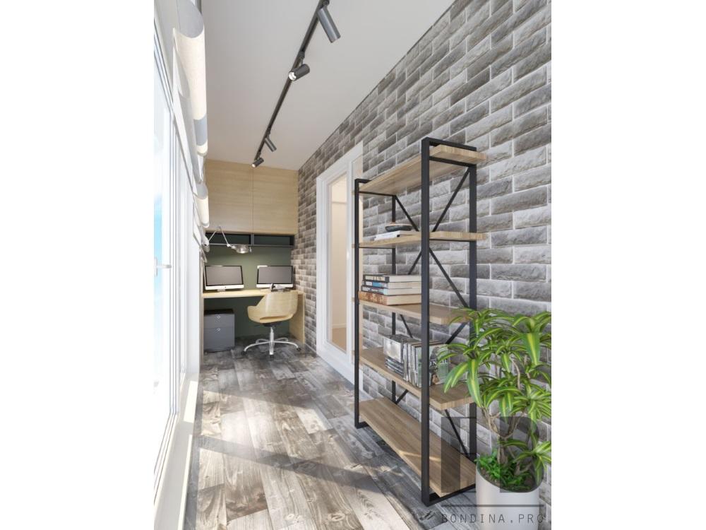 Балкон кабинет, дизайн