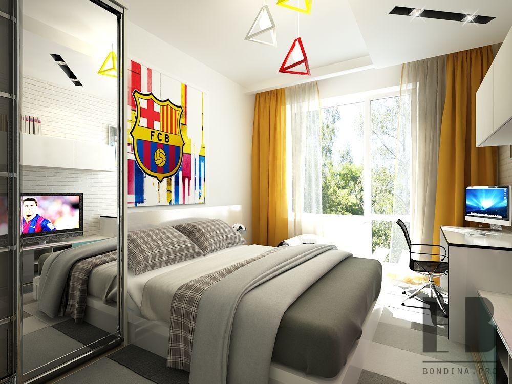 Teen room interior design