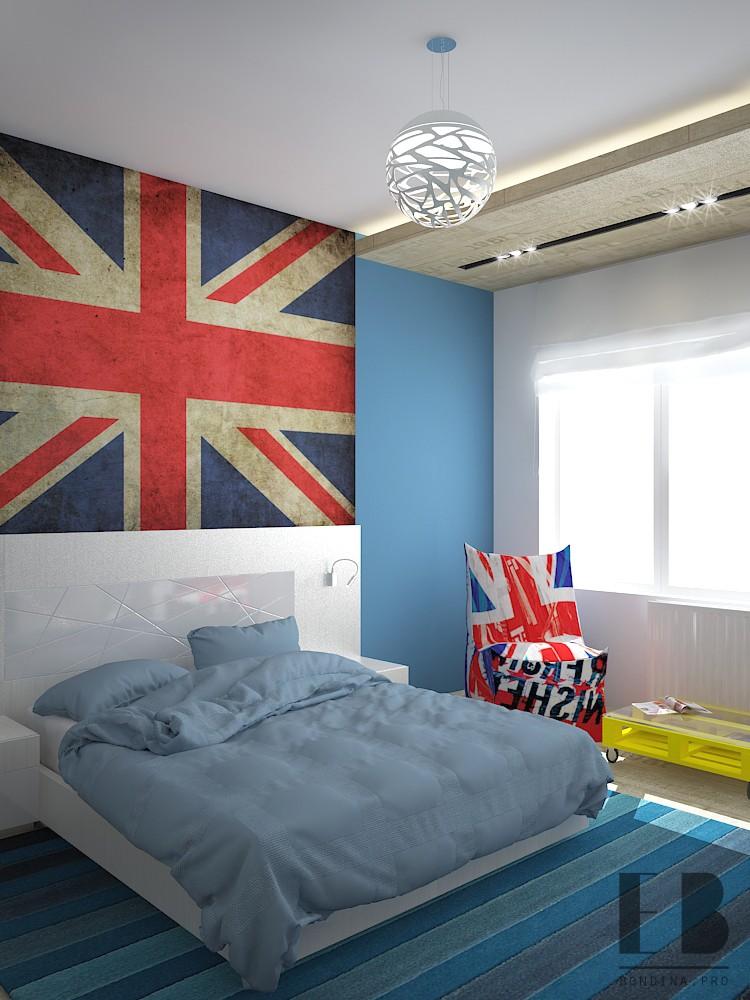 Дизайн спальни для молодого человека