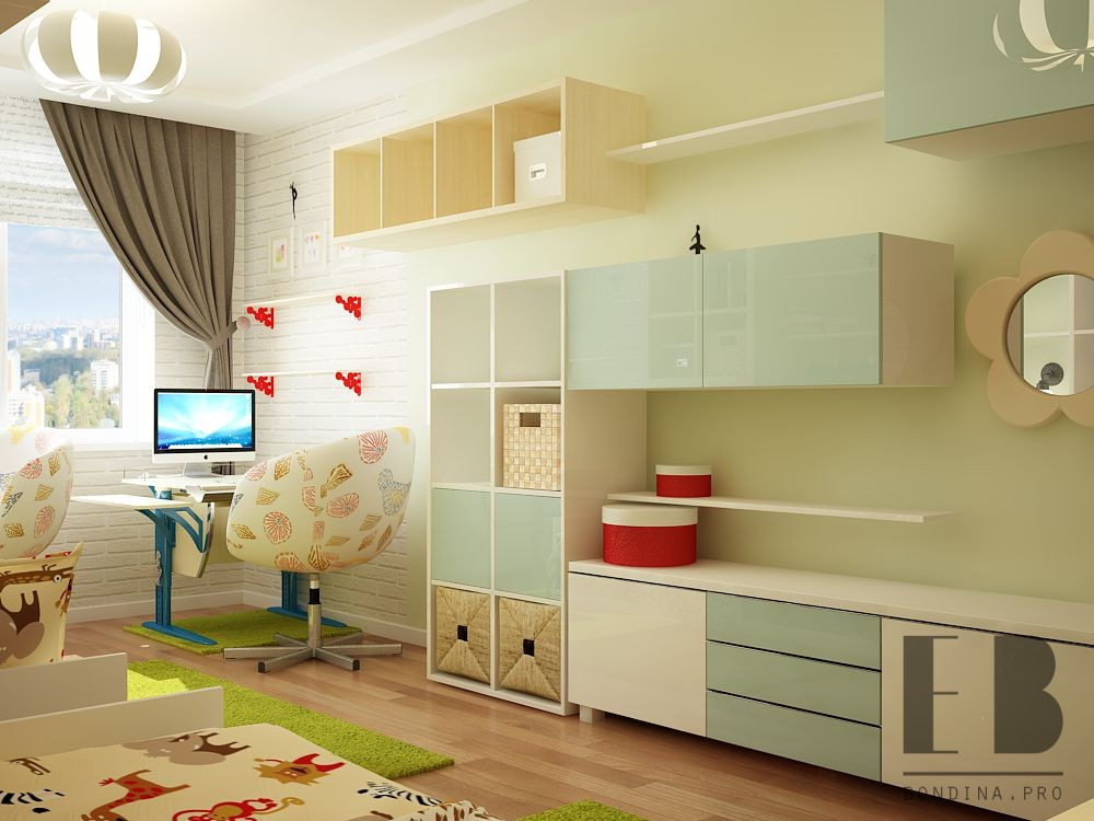 Functional children room design