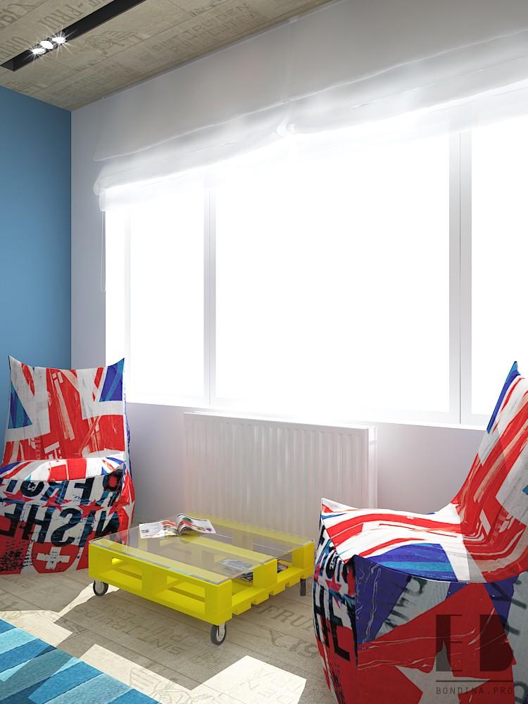 Спальня с большими окнами дизайн интерьера