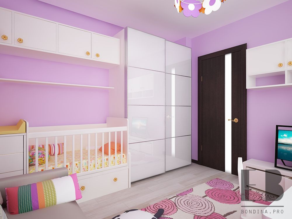 Toddler girl room design