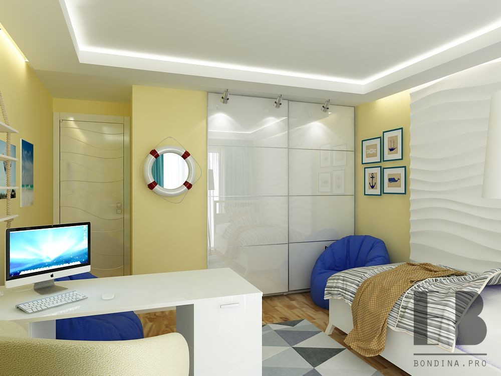 Nursery design for a boy