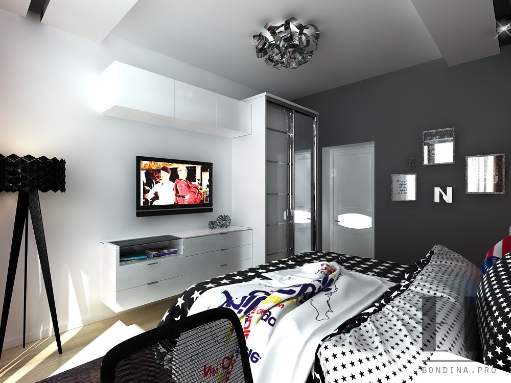 Design a bedroom for a girl
