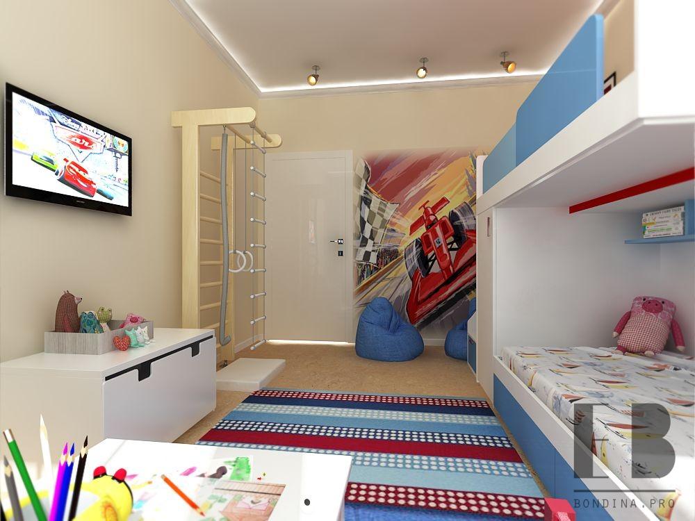 Дизайн комнаты для детей