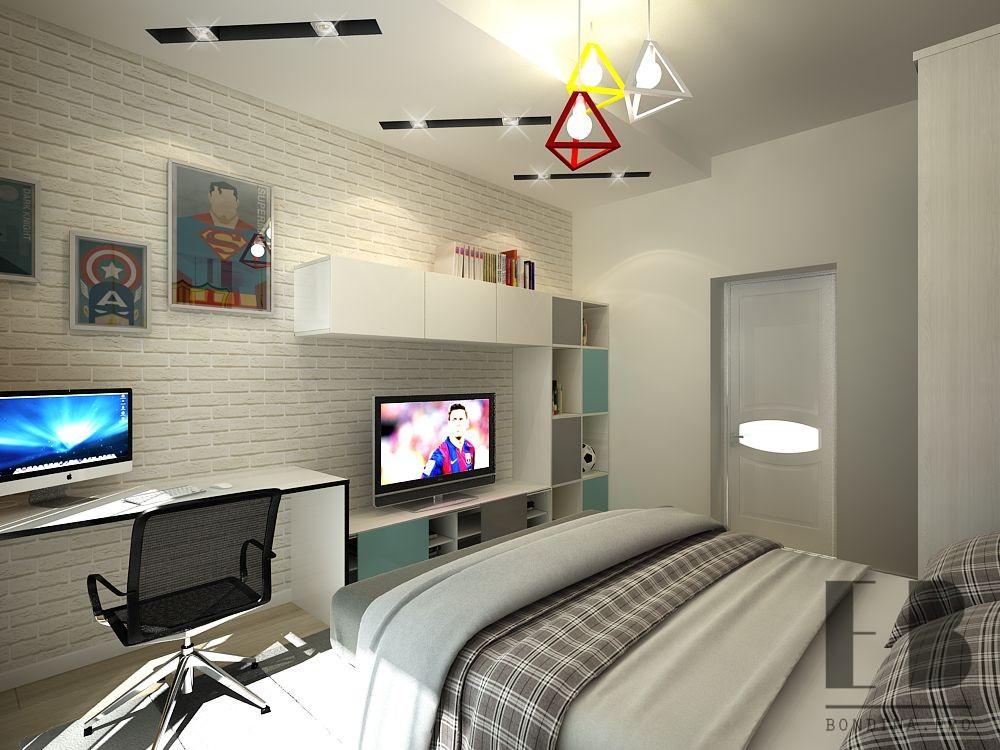 Проект комнаты подростка