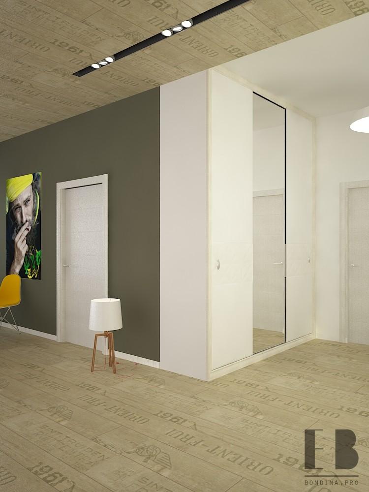 Шкаф купе в квартире студии дизайн интерьера