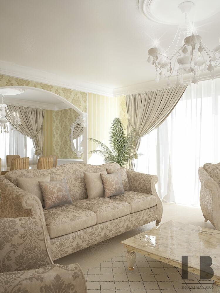Classic style furniture interior design