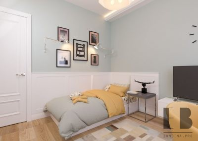 Bedroom design for teenage girls