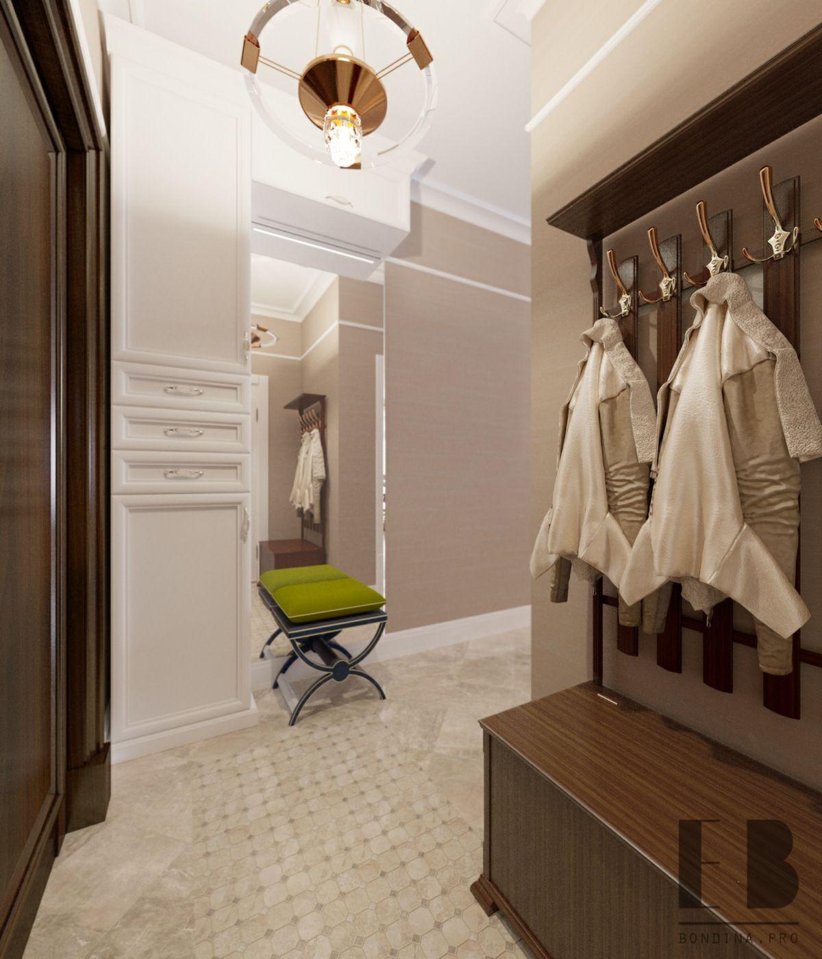 Beautiful Contemporary Entry Hall Interior Design