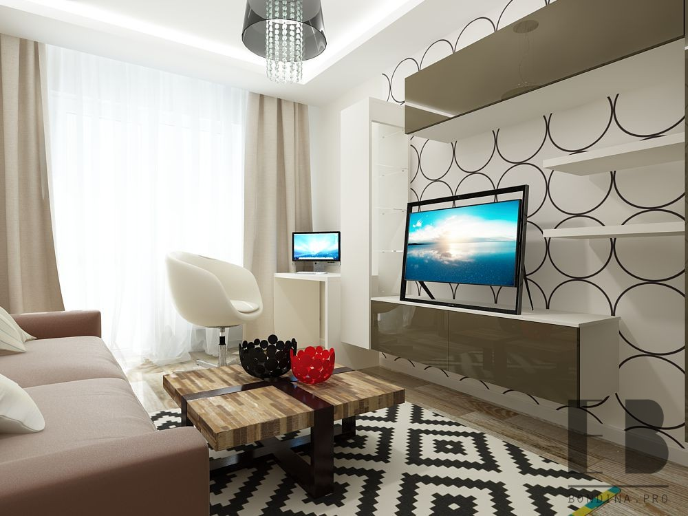 Beautiful small apartment interior
